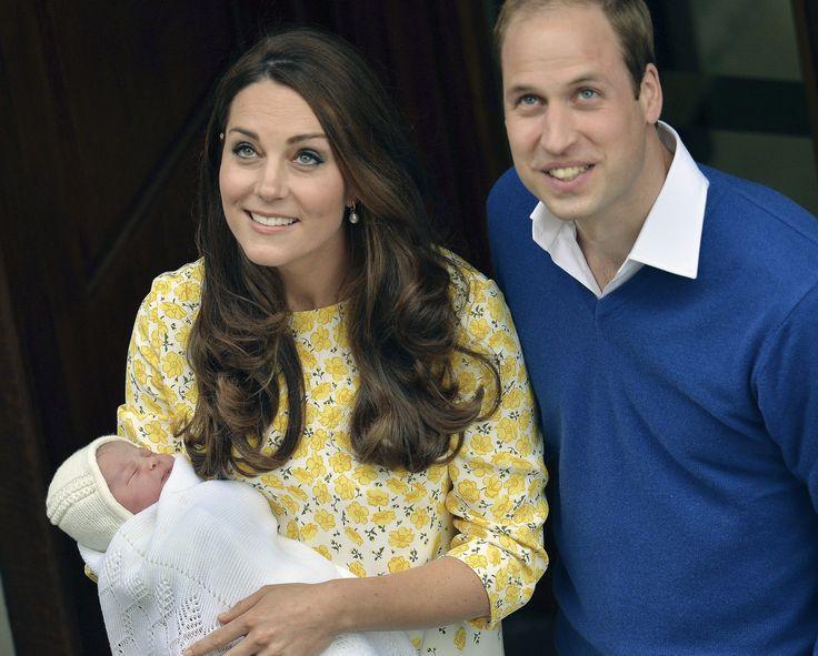 Britain's new princess named Charlotte Elizabeth Diana
