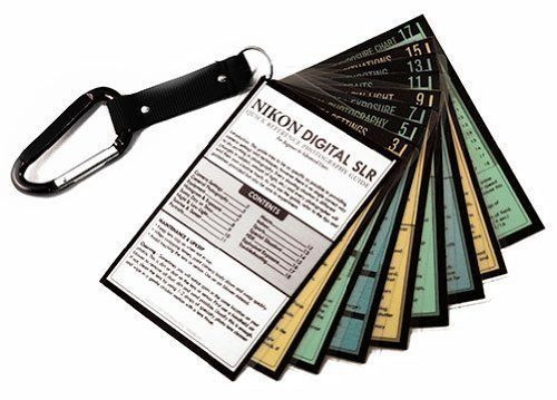 Nikon DSLR Photography Tip Cards Cheat Sheets for D3300 D3200 D3100 D5500 D5300 D5200 D5100 D7200 D7100 D7000 Nikon D810 D800 D610 D600 D750 D700 D300S Df D4S D4 D3X D3000 D60 D90 How To Guide Whitecap Studios