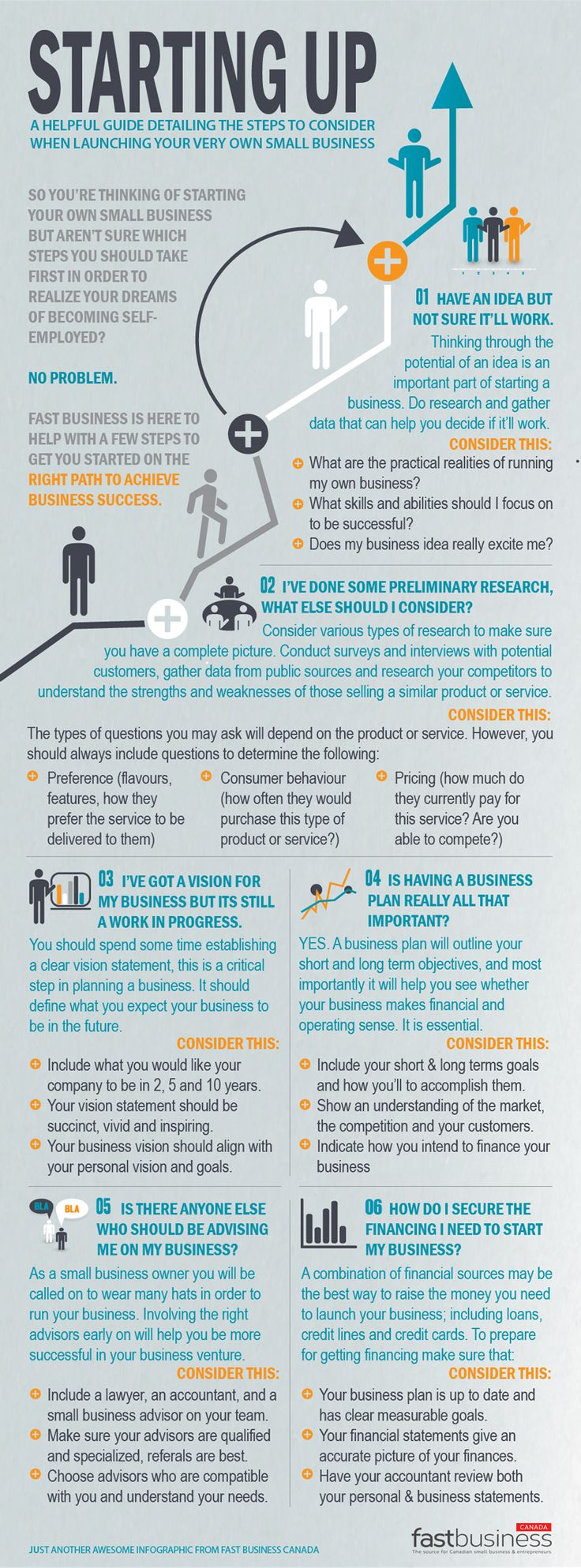 Resume Starting Up: Quick Guide To Starting A Small Business #infographic