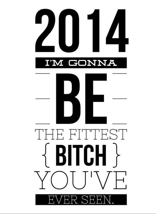2014 I'M Gonna be Fit #fitspiration