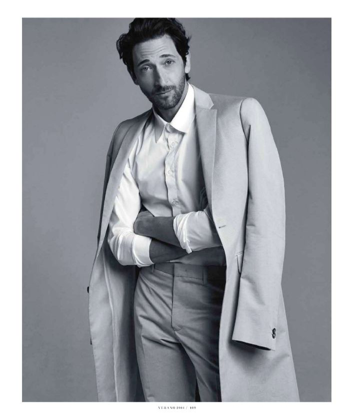 adrien brody big black book photos 008 Houdini Star Adrien Brody for Esquire   The Big Black Book Mexico