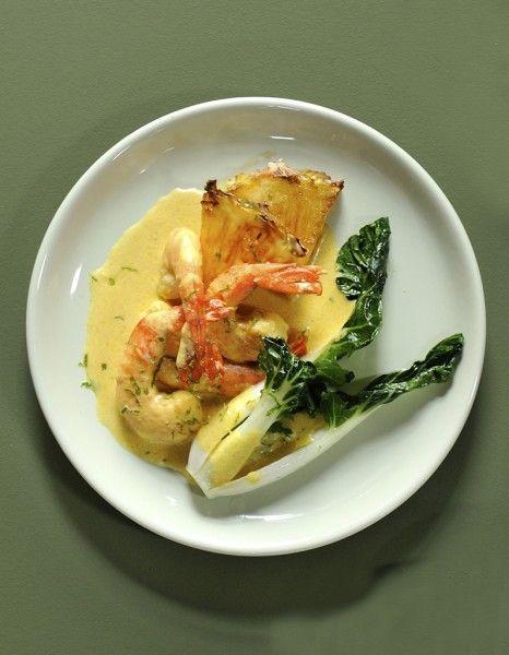 Crevettes au curry pour 4 personnes - Recettes Elle à Table - Elle à Table