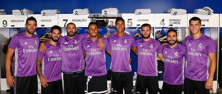 Los 25 jugadores que viajan a Montreal desde Madrid