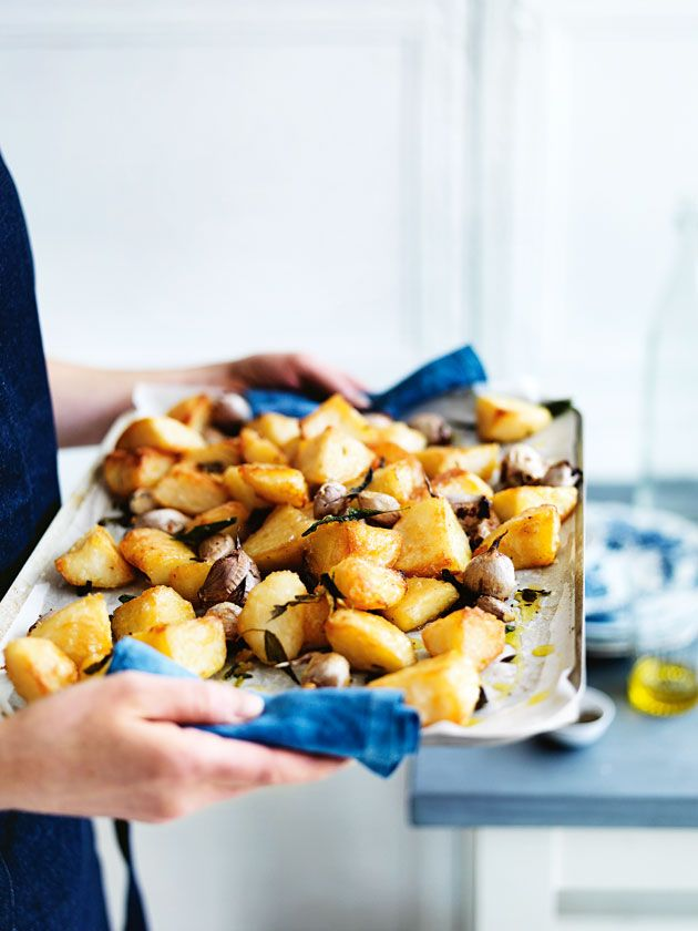 crunchy roast potatoes from donna hay