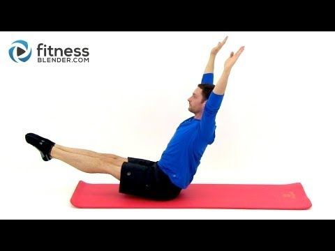 24 Minute Pilates for the Abs and Legs - Free Pilates Workout Videos by Fitness Blender - YouTube