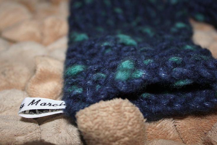 Custom knitted Fingerless Mittens made for customer by Homemade By Marcie. Follow on Instagram @Homemadebymarcie
