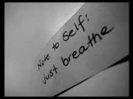 nota para si mesmo.. Apenas respire :)