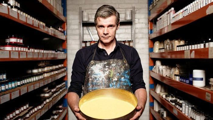 David Coles interview of old fashioned paint maker