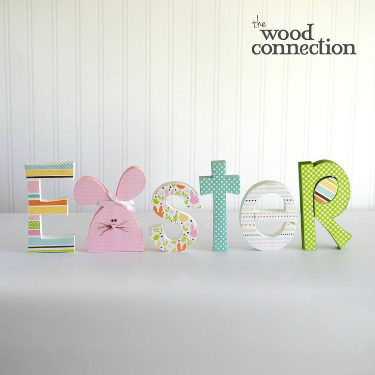Easter Letter Set - The Wood Connection