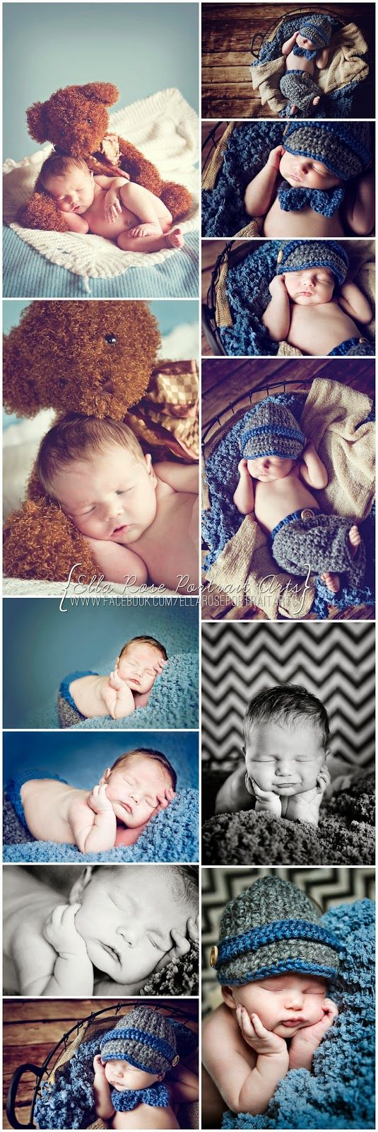 love the images with the stuffed bear... so cute, by Crafting & Coffee Makes this Momma Happy: Little Boy Blue - newborn photography