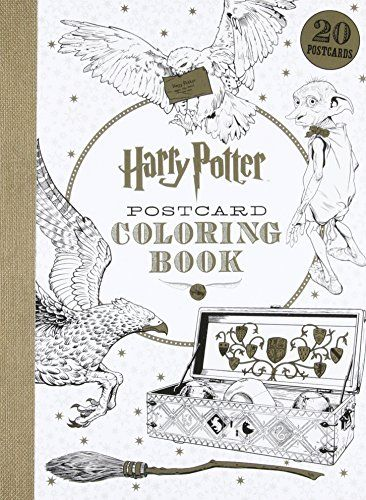 Buy Harry Potter Postcard Colouring Book By Warner Brothers From WHSmith Today Saving FREE Delivery To Store Or UK On