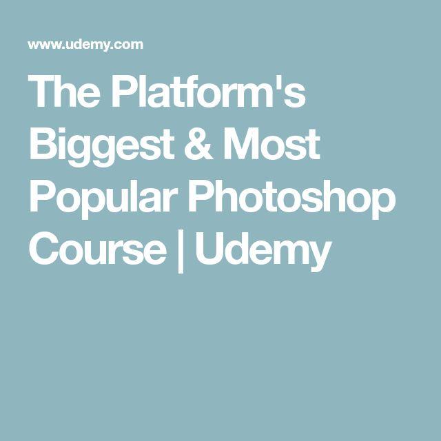 The Platform's Biggest & Most Popular Photoshop Course   Udemy
