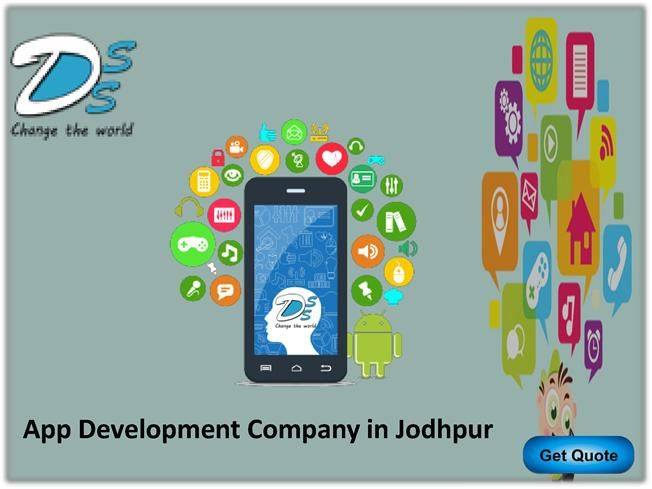 Best mobile app Development Company in Jodhpur we offering Android app and web application development service in Jodhpur