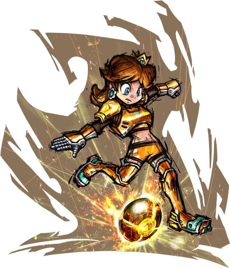 PIPOCA COM BACON - GAMES: MARIO STRIKERS CHARGED – O FUTEBOL APELÃO DA NINTENDOmario_strikers_charged_daisy - #PipocaComBacon
