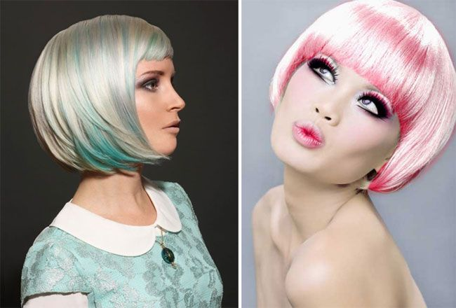 Capelli moda inverno 2015: Pettinatura pop style