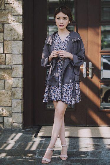 Kate Katy Dress, Kate Katy Jacket, Mango Heels - 022814 - Tricia Gosingtian