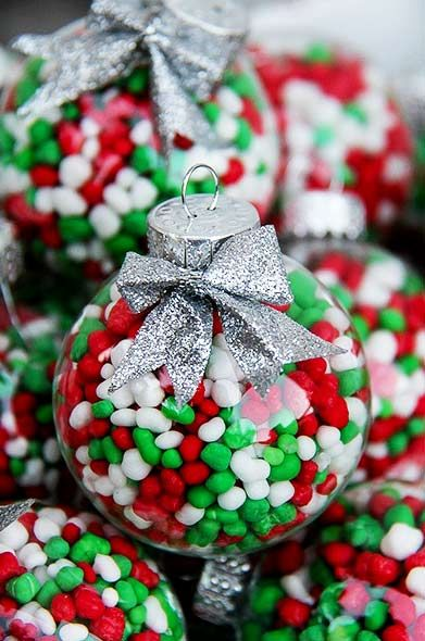 1799 best ornament ideas images on pinterest christmas for Homemade christmas candy gift ideas