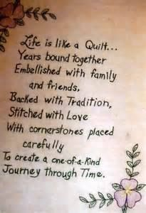~ Image only of quilt saying!