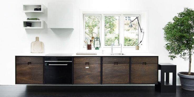 Kitchen in smoked oak from SkabRum ( comes also in oak). Super cool design. Pricewise amazing value for the buck. Handmade quality for less than mainstream factory made Kitchens.... Kitchen, smoked oak, oak, Scandinavian design