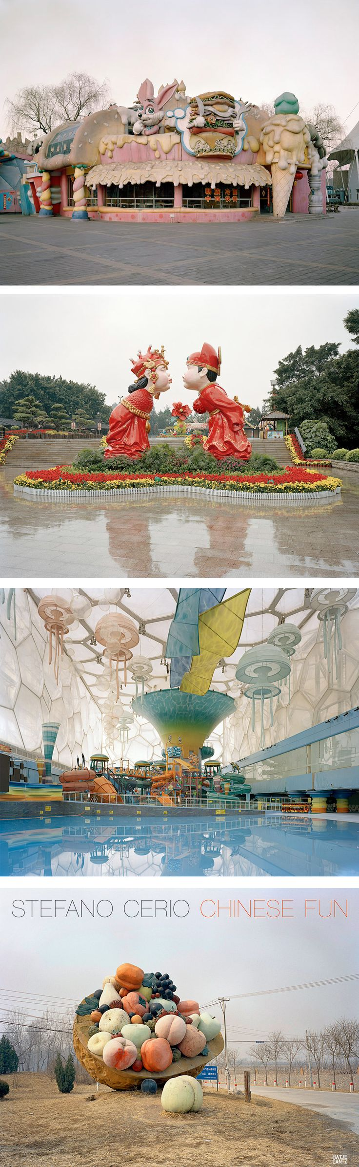 Photographs of Empty and Abandoned Amusement Parks Explore China's Architecture of Leisure