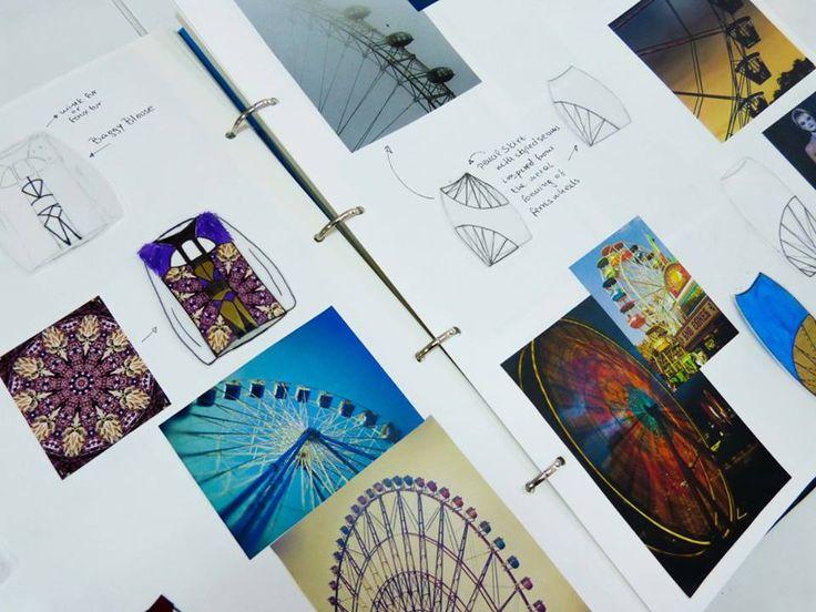 Pages from the sketchbook  #ferris_wheel_inspiration #Mega_Trend_Offbeat_Sketchbook