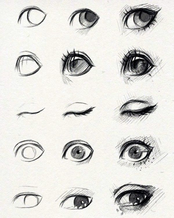 How To Draw An EYE - 40 Amazing Tutorials And Examples - Bored Art                                                                                                                                                                                 More