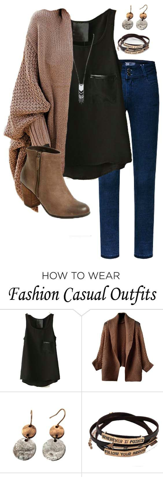 287 best Polyvore - Fall/Winter images on Pinterest | Feminine fashion For women and Casual wear