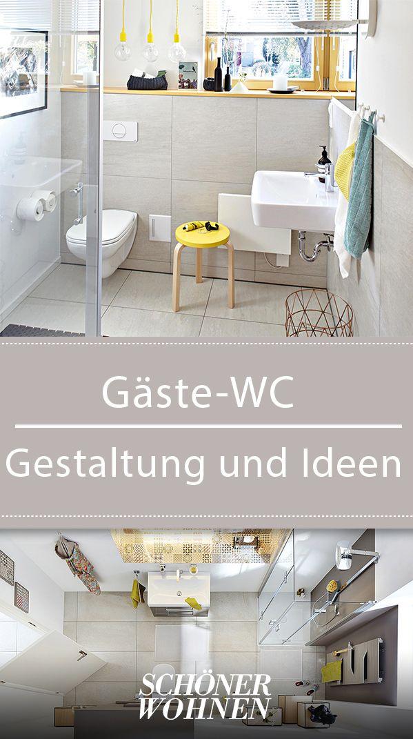 Gäste-WC: Gestaltung und Ideen | Home Decoration | Gäste wc ...