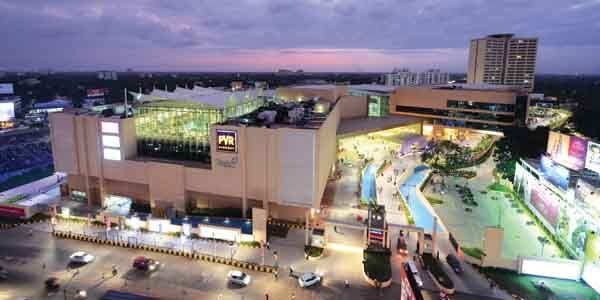 The LuLu Mall is the largest shopping mall in India situated in the City of Kochi, India. Spanning 17 acres and with a total retail floor area of 1.7 million square feet, it is the 48th largest shopping mall in World.