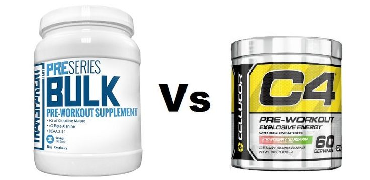 Top 10 Pre Workout Supplements for Men 2016