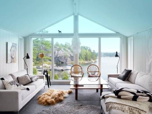 Swedish Summer House: For Nature Lovers Only   Beautiful Interiors