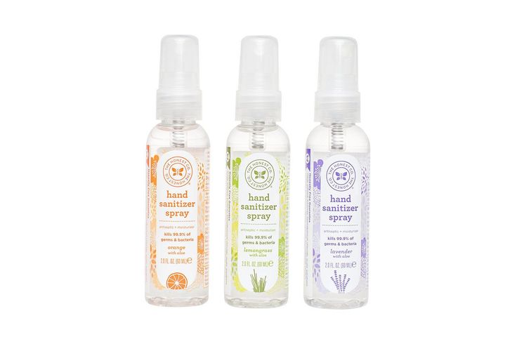 Hand sanitizer spray offering plant-derived ingredients and quick-drying formula with no sticky residues. Available in 3 scents, our hand sanitizer effectively kills 99.9% of germs and bacteria.