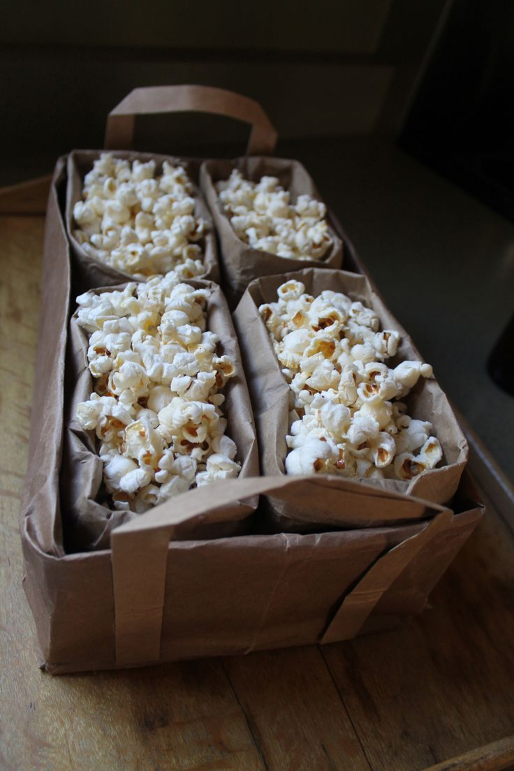 Family Chic Paper Bag Snack Caddy