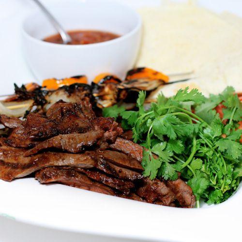 Grilled Skirt Steak Fajitas with Dry Rub   Main Dishes   Pinterest