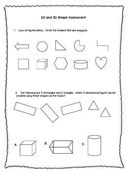 2D and 3D Shape Assessment