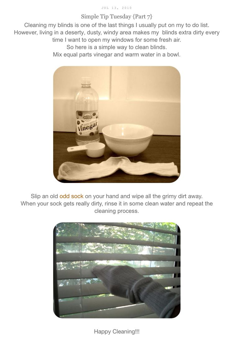 Easy way to clean blinds cleaning blinds cleaning
