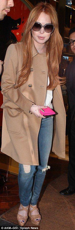 LiLo as a redhead Yay #Lindsay Lohan