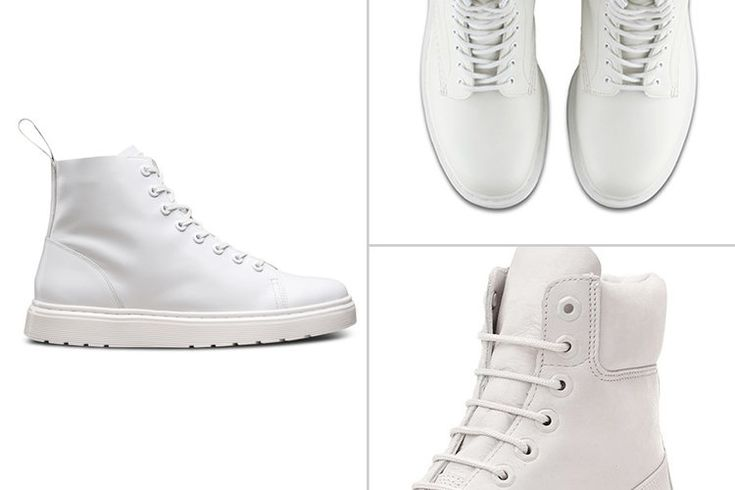 Fresh & Clean: 5 Stylish All White Boots for Men