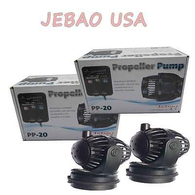 Pumps Water 77641: 2X Jebao Wireless Wave Maker Pump Controller Rw-20 Pp-20 Upgrade Wp60 5300 Gph -> BUY IT NOW ONLY: $156 on eBay!