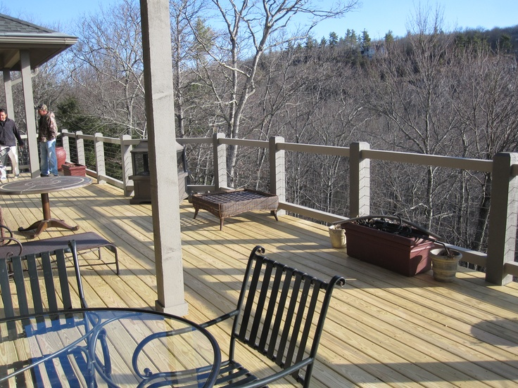 Deck and Handrails