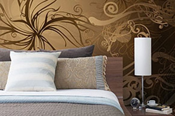 Gold Designer Wall Mural - Perfect for adding that extra touch of Class to a space