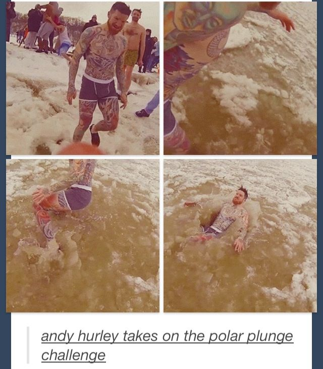 And Hurley Polar Plunge