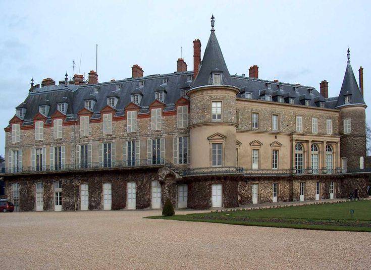 Yvelines : Château de Rambouillet - France