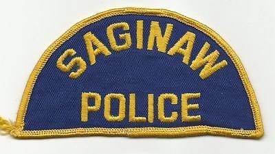 Saginaw-MICHIGAN-Police-patch-OLD