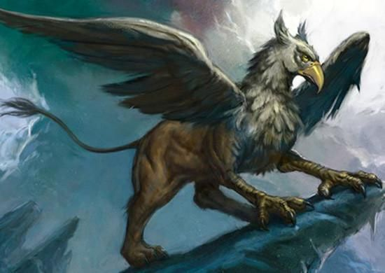 The griffin is а fairy tale by the Brothers Grimm