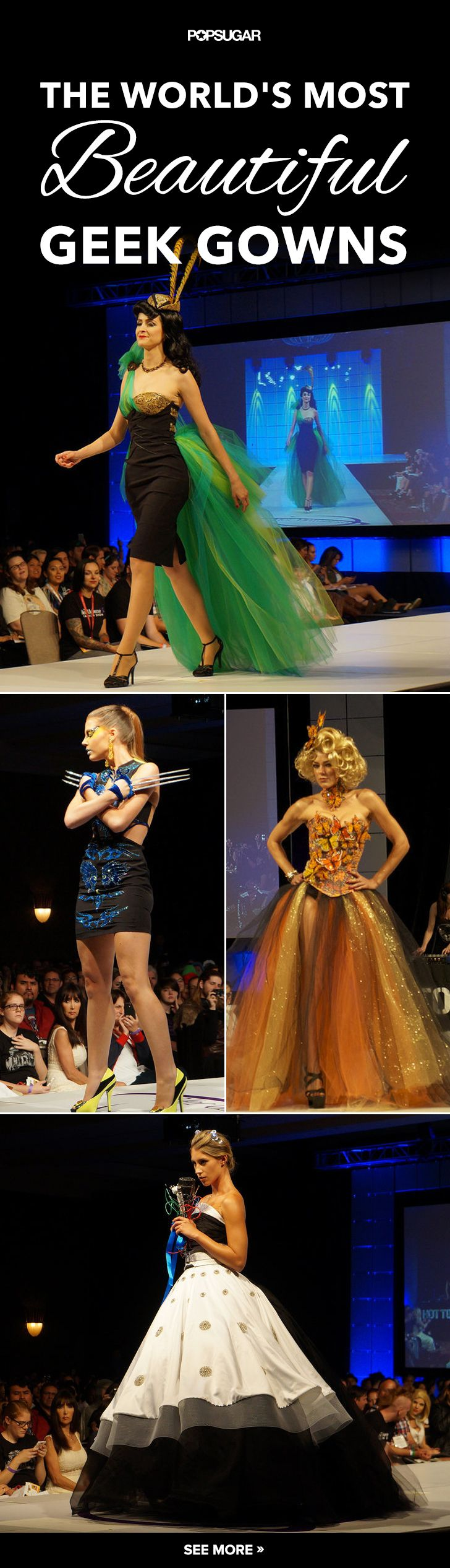 Loki and Daleks as geek couture . . . this is the fashion show you don't want to miss!