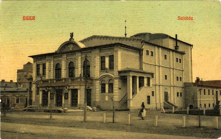 Eger, Színház 1910
