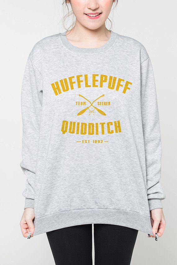 Hufflepuff Quidditch Harry Potter shirt women by OnemoreToddler