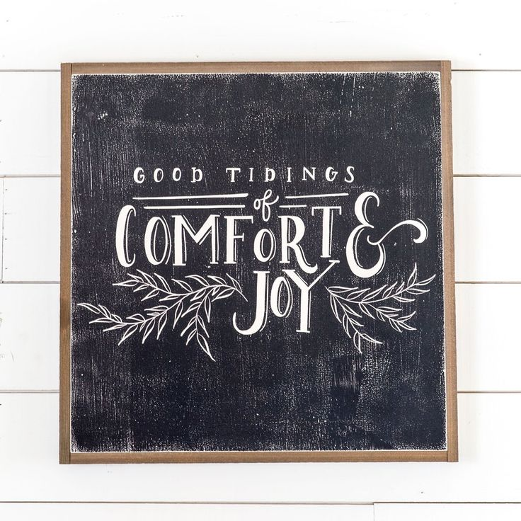 """Good Tidings"" Sign | Christmas Decor | Magnolia Christmas | Magnolia Market | Chip & Joanna Gaines | Waco, TX |"