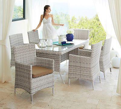 Fabulous Gartenm belset Bali tgl Sessel Tisch x cm